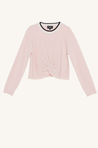 SPORTY TWIST KNIT in colour BLUSHING BRIDE