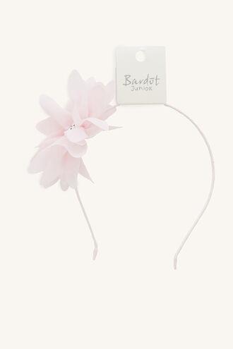 GARDEN FLOWER ALICE BAND in colour WHITE ALYSSUM