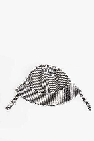 STRIPE BABY BUCKET HAT in colour ALEUTIAN