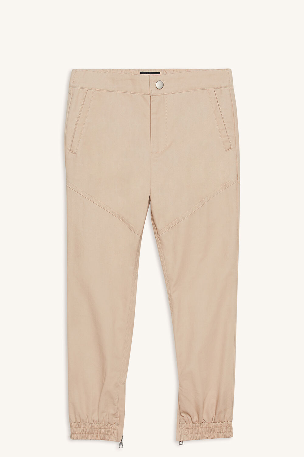 CHINO JOGGER PANT in colour FOG