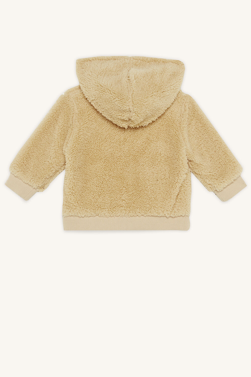 MASON HOODED TOP in colour TAN