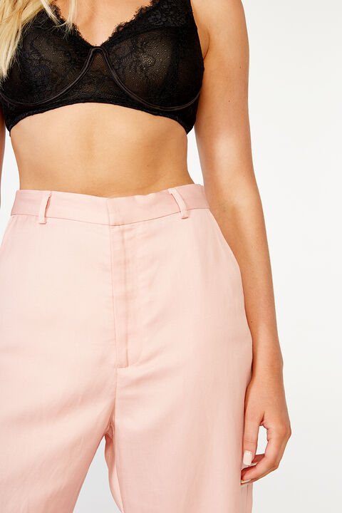 BOBBI WIDE LEG PANT in colour DESERT SAND