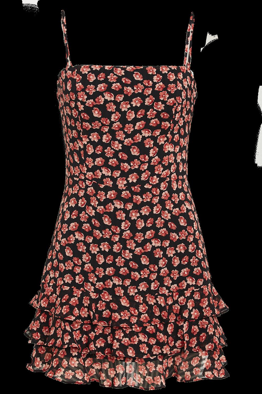 DITSY MINI DRESS in colour METEORITE