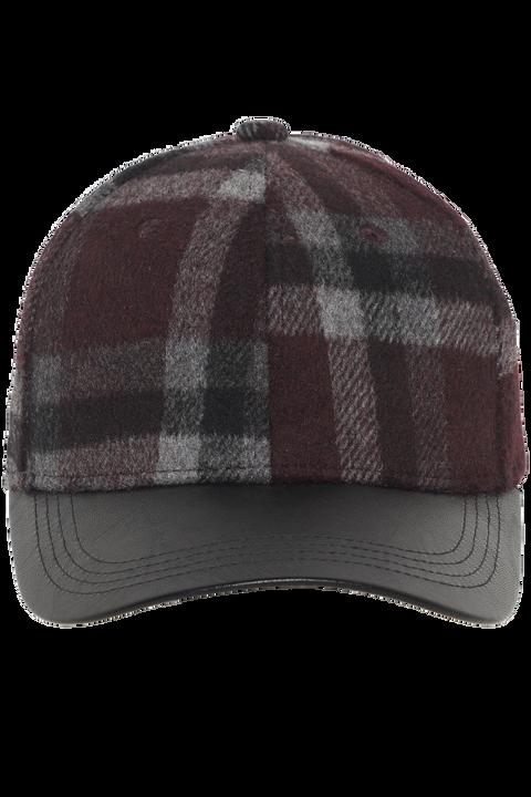 LUMBER CHECK CAP in colour PORT