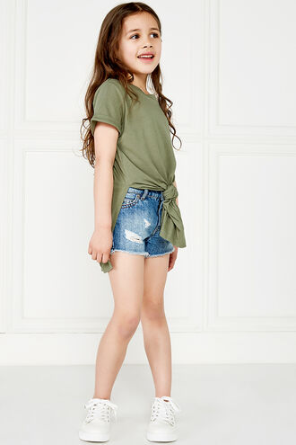 TYLA TEE in colour IVY GREEN