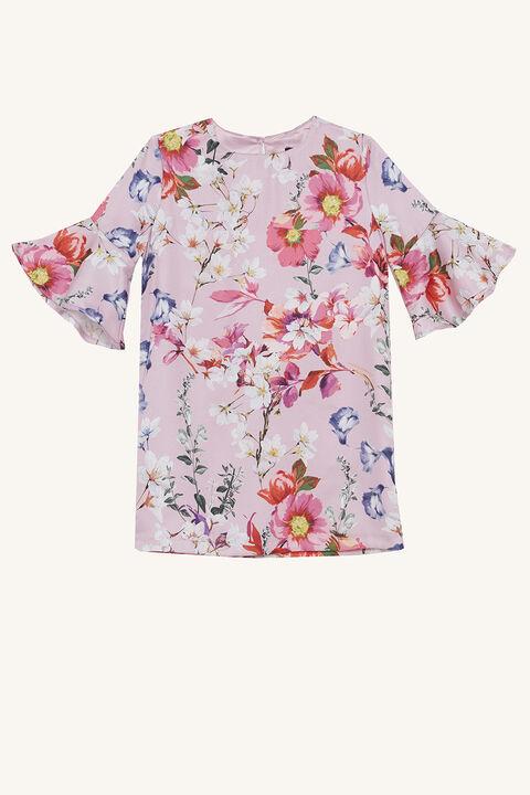 SAVANNAH SHIFT DRESS in colour PRISM PINK