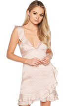 LOLITA PRINT DRESS in colour LOTUS