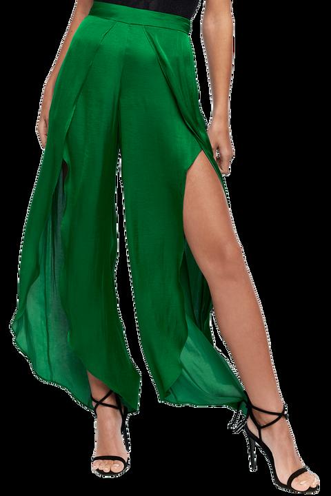KAYLAH PETAL PANT in colour CLASSIC GREEN