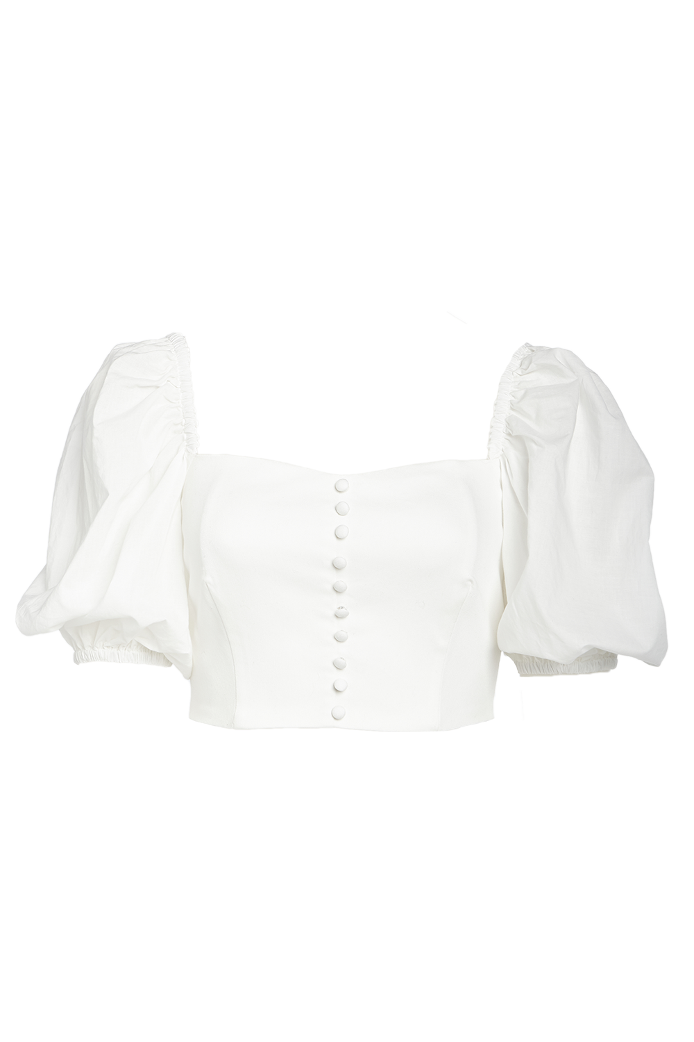 LIMA TOP in colour BRIGHT WHITE