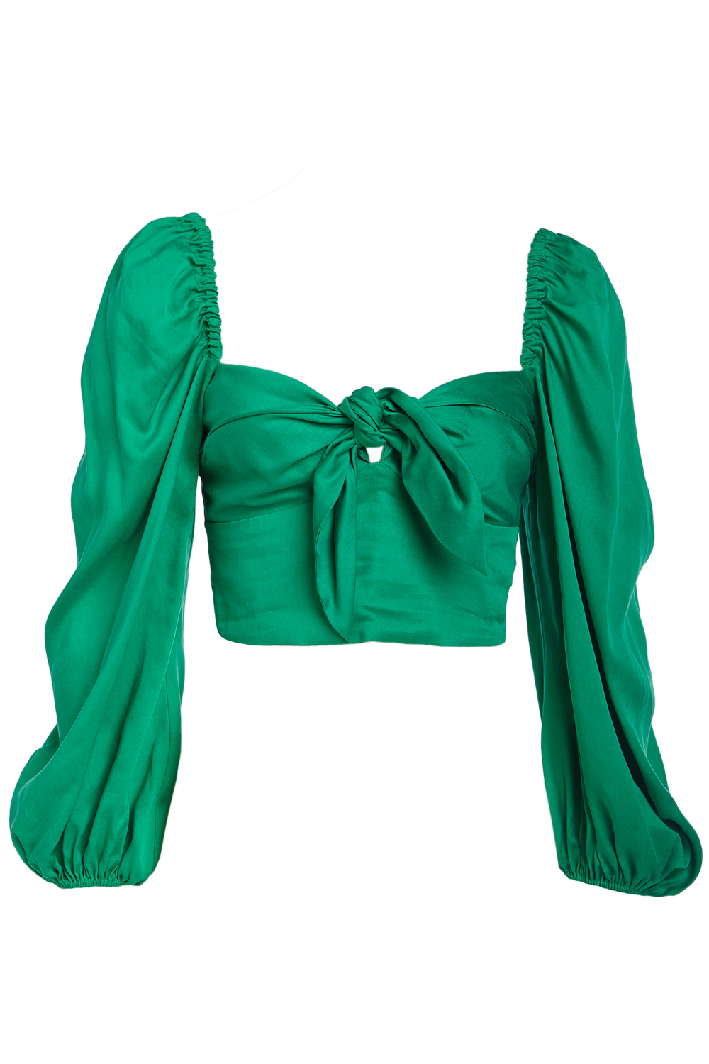 SOFIA BLOUSE in colour PEPPER GREEN