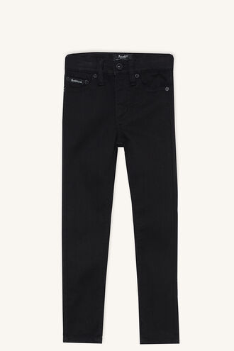 SIENNA MID RISE JEAN in colour JET BLACK