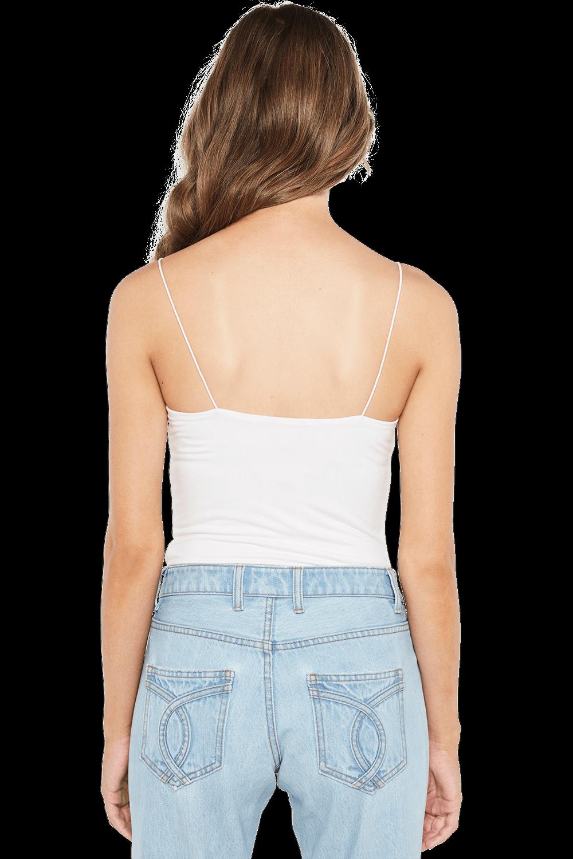 SONIA BODYSUIT in colour BRIGHT WHITE