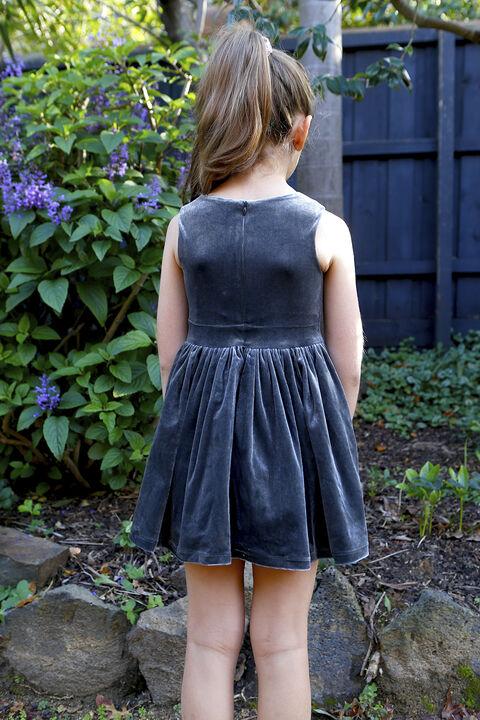 JUNIOR GIRL nakita bowie dress in colour CASTLEROCK