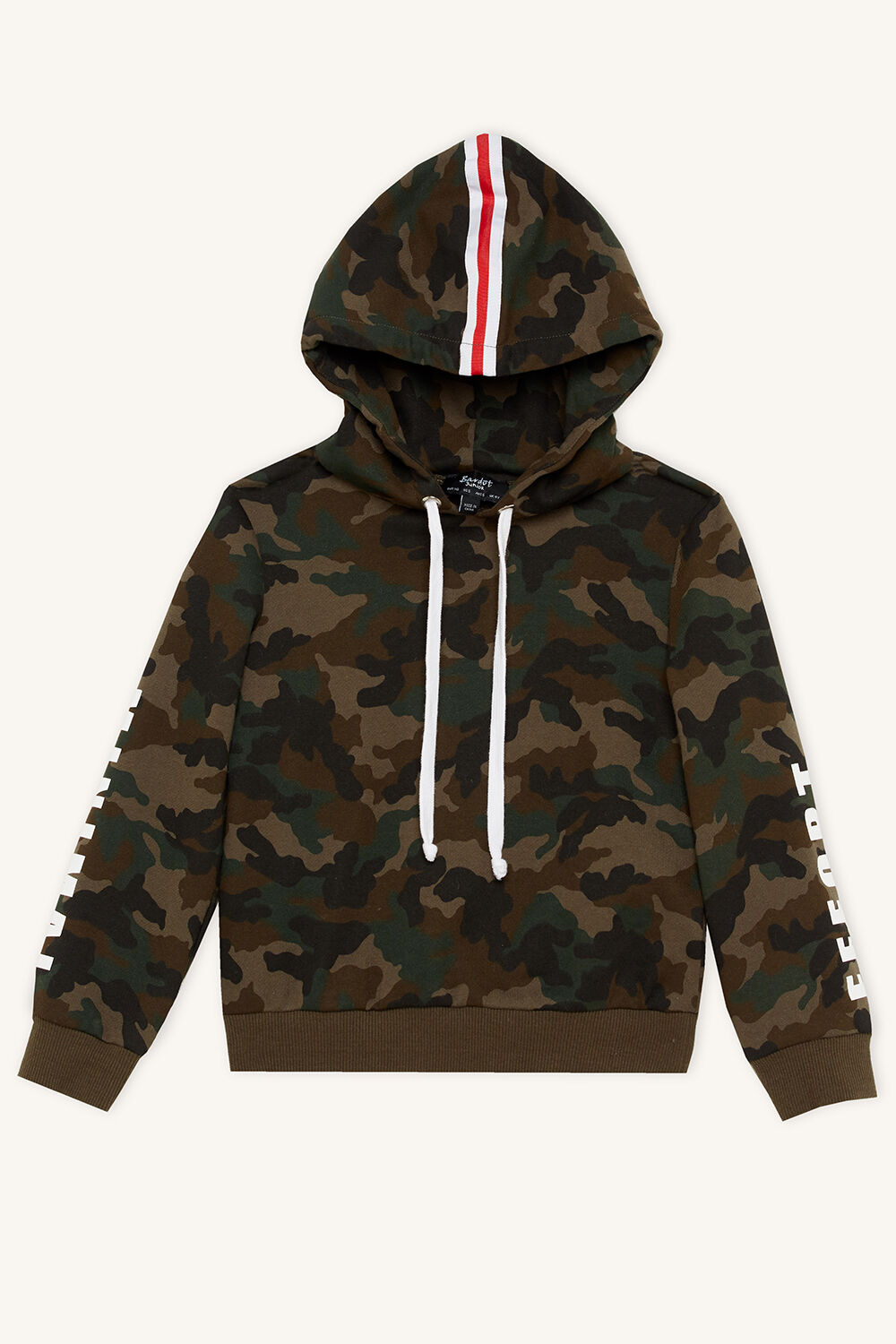 MINIMAL EFFORT HOODY in colour BURNT OLIVE