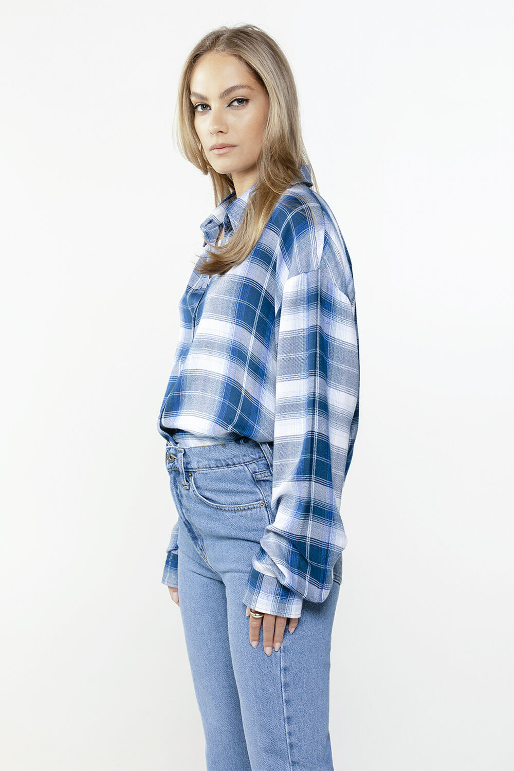 CLASSIC CHECK SHIRT in colour ANGEL FALLS
