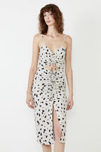 THE NEW LEOPARD DRESS in colour GOLDEN GLOW