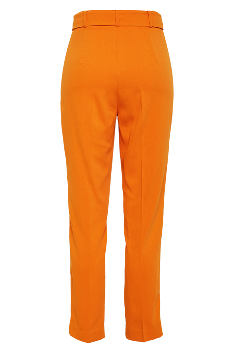 THERESE BUCKLE PANT in colour CORAL