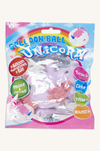 UNICORN BALLOON BALL in colour BRIGHT WHITE