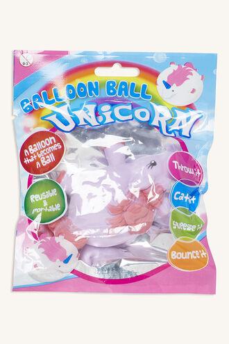UNICORN BALLOON BALL in colour BRIGHT WHITE