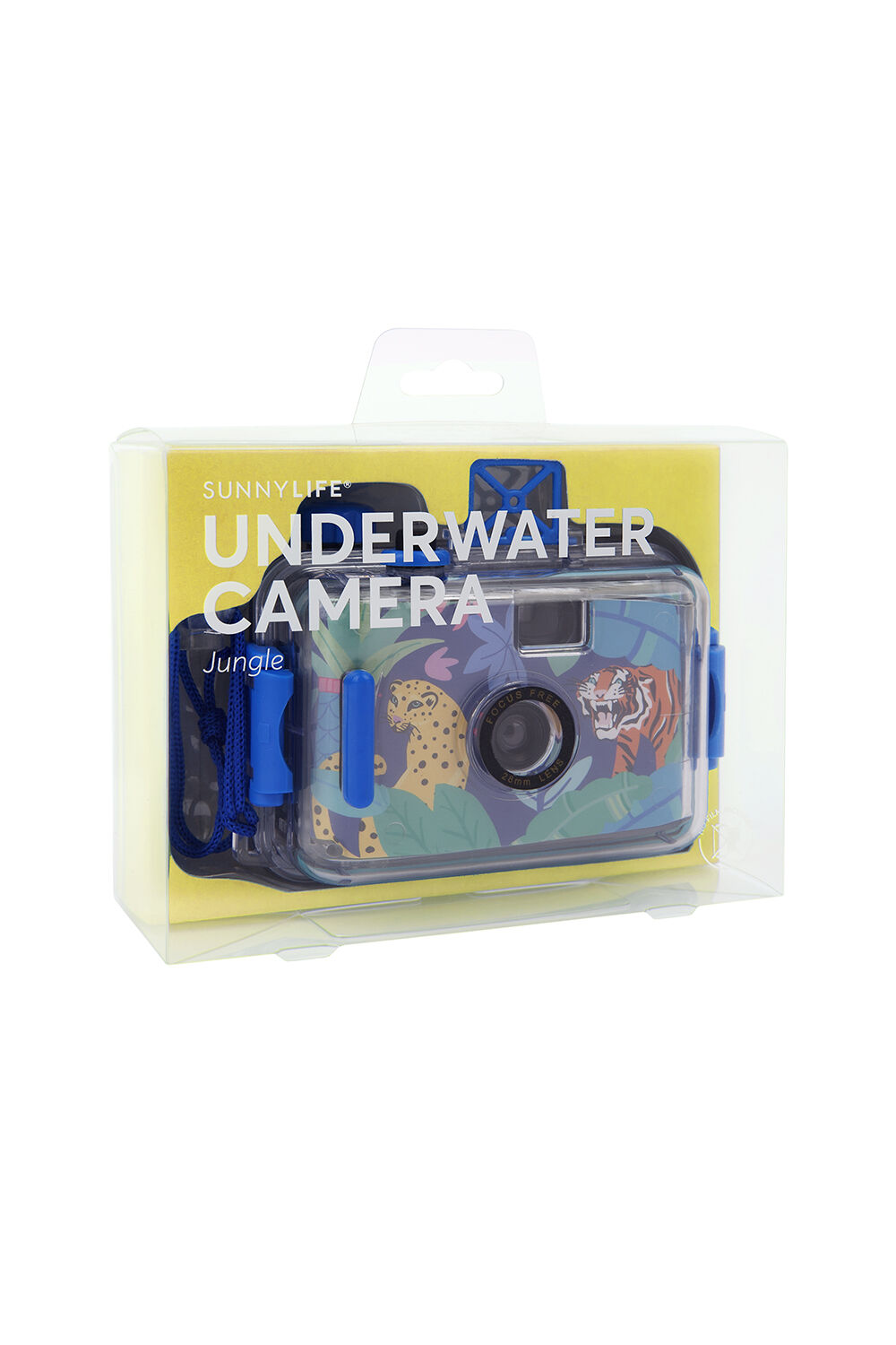 Underwater Camera Jungle in colour BALLAD BLUE