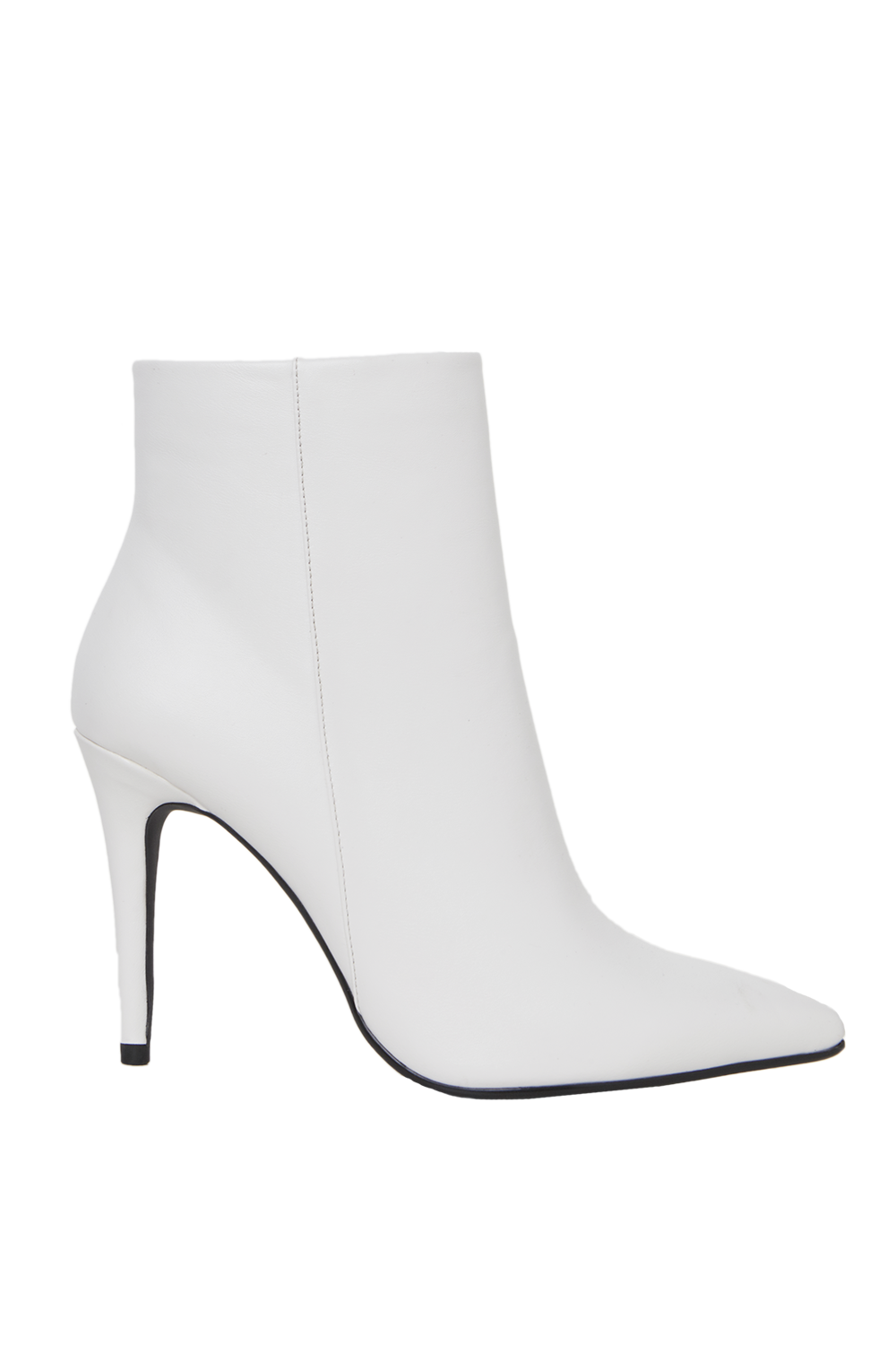 WHITE OUT ANKLE BOOT in colour WHITE ALYSSUM