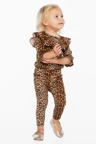 MIA LEOPARD GROW in colour BEIGE