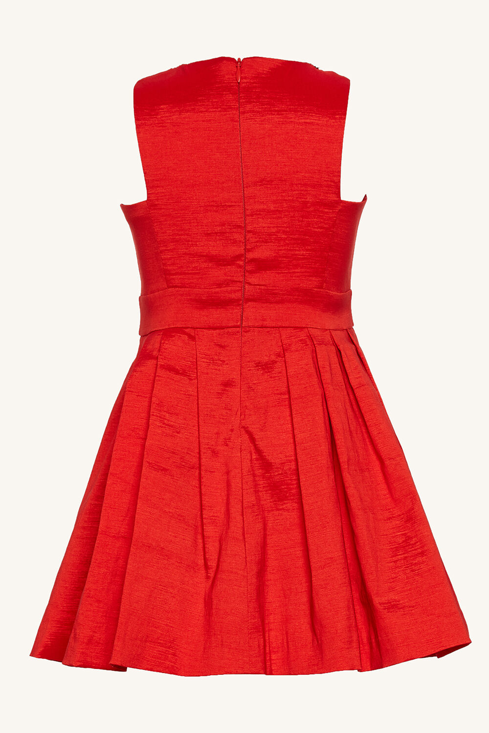NELLY JEWEL DRESS in colour HIGH RISK RED