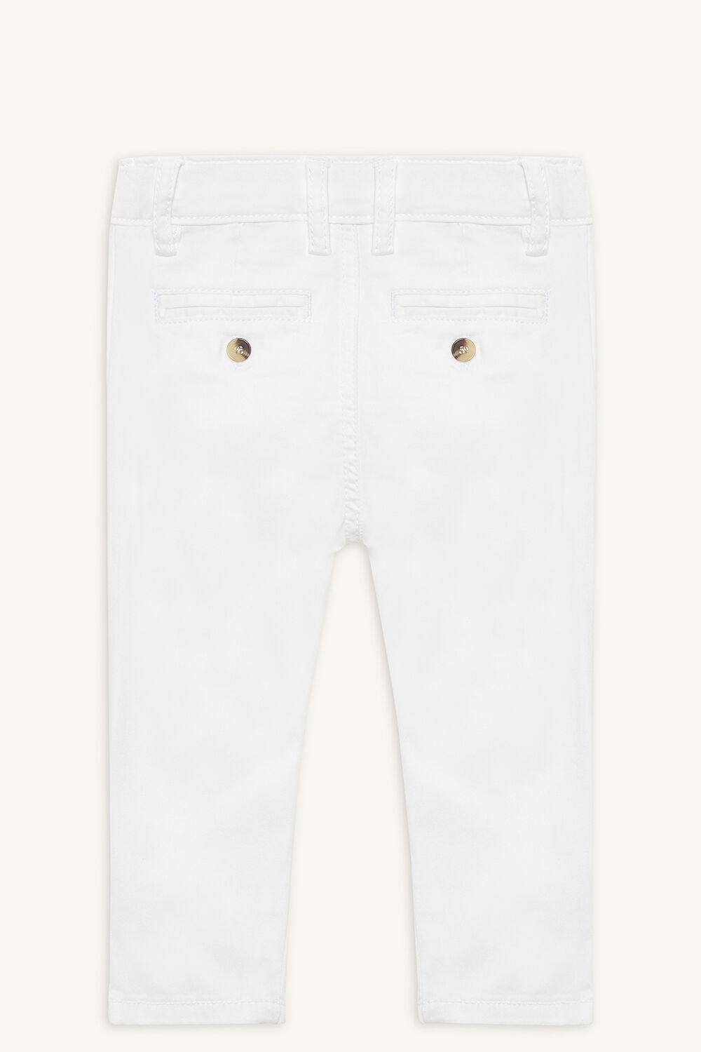 JACK CHINO PANT in colour BRIGHT WHITE