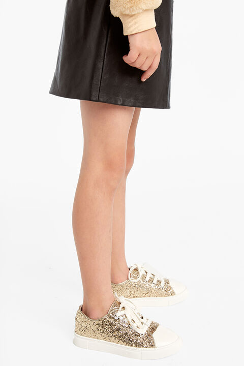 SIENNA SPARKLE SNEAKER in colour GOLD EARTH