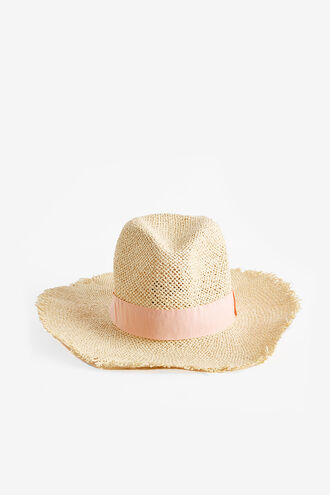 PINK FEDORA in colour NATURAL