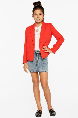 MALIBU BLAZER in colour FIERY RED