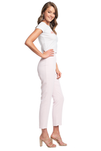 ZALIA SLIM PANT in colour BLUSHING BRIDE