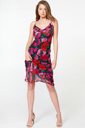 ROSETTA SLIP DRESS in colour TAP SHOE