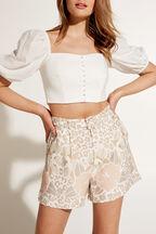 LIMA TOP in colour BRIGHT WHITE
