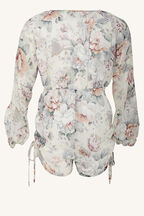 ISABELLA PLAYSUIT in colour STAR WHITE