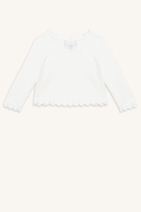 BOLERO CARDI in colour BRIGHT WHITE