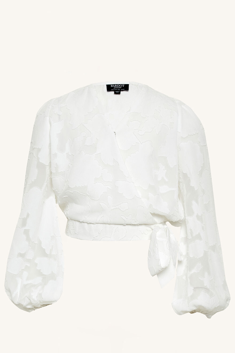 ELEANOR TOP in colour BRIGHT WHITE