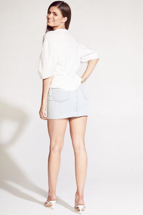 Milena Tee in colour BRIGHT WHITE