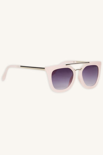 EMMA_ AVIATOR SUNGLASSES in colour PINK CARNATION