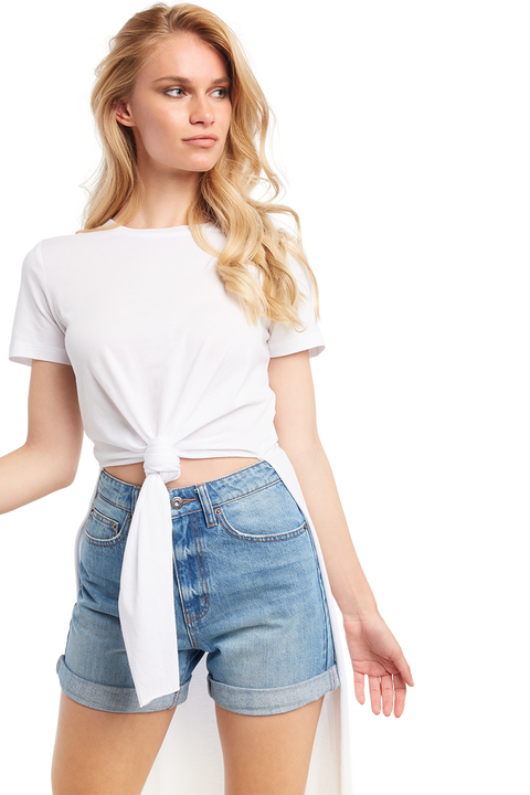 TYLA TEE in colour BRIGHT WHITE