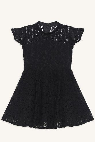 KATANNA LACE DRESS in colour JET BLACK