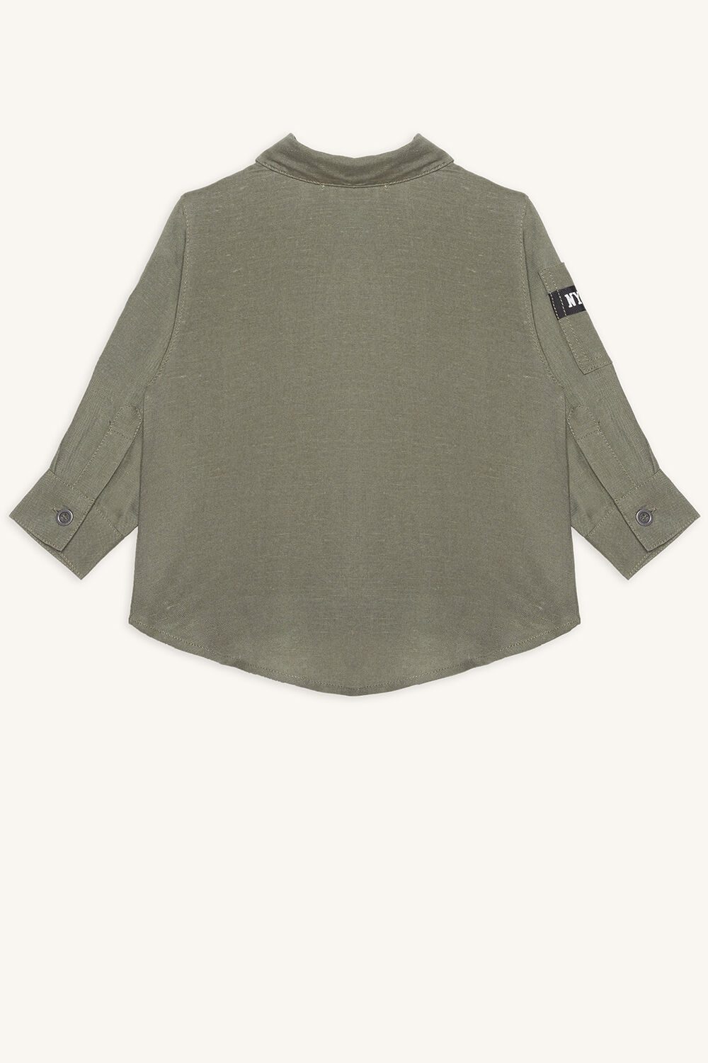 ARMY SHIRT in colour DEEP LICHEN GREEN