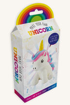 MAKE YOUR OWN UNICORN in colour BRIGHT WHITE