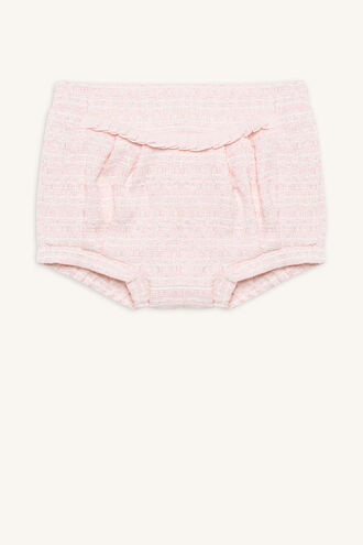 COCO BUBBLE SHORT in colour CRYSTAL PINK