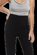 ZALIA SLIM PANT in colour CAVIAR
