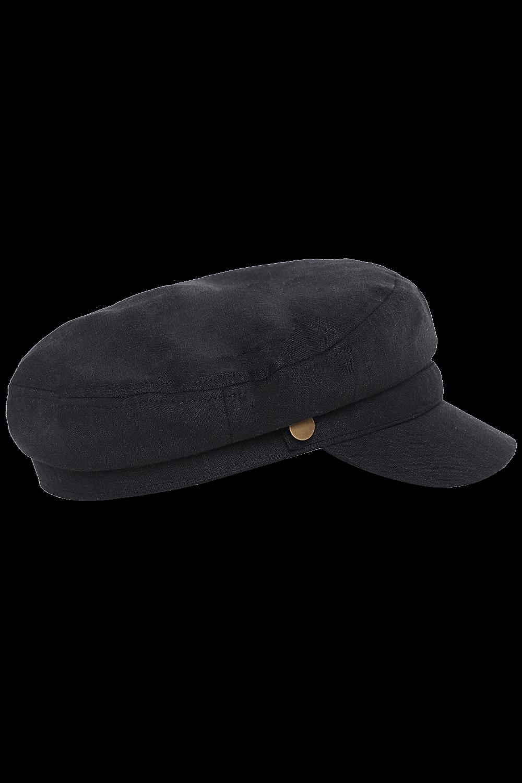 LINEN CAPTAIN CAP in colour METEORITE