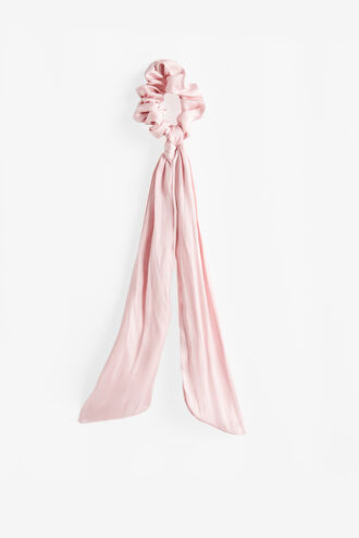 ADDY SCRUNCHIE SCARF in colour PARADISE PINK