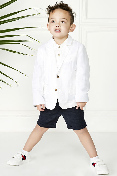 St Tropez Blazer in colour BRIGHT WHITE