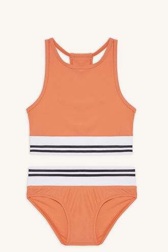 ZARA TWO PIECE BIKINI in colour FLAME