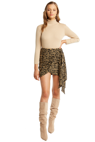KALIA MINI SKIRT in colour FOG